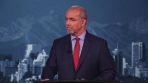 Weaver asks Horgan: 'Did you just say the BC Liberals are going to win the next election?'
